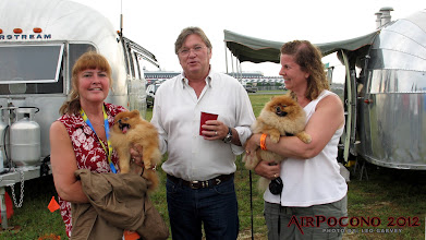 Photo: Dogs?  Who brings dogs to a NASCAR track?