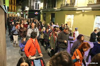 Photo: Huesca: 8M 2014 Sobre 700 personas