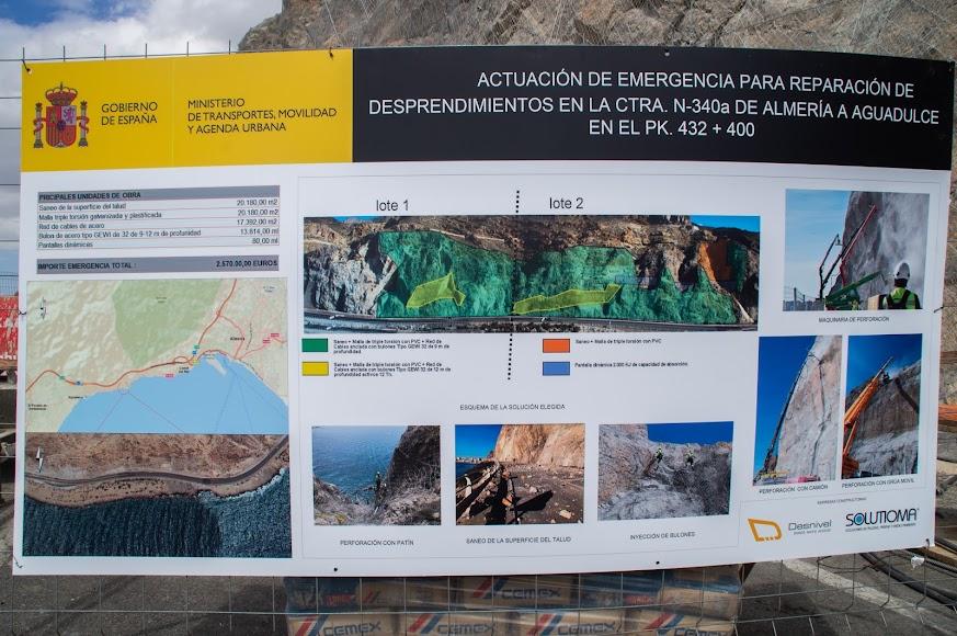 El presupuesto de la actuación de emergencia es de 2,57 millones de euros.
