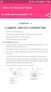 CBSE Class 10 Science NCERT Notes and Exam tips - náhled
