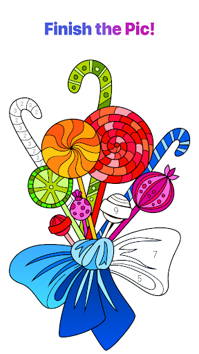 Color by Number u2013 New Coloring Book 2.1.0 Screenshots 7