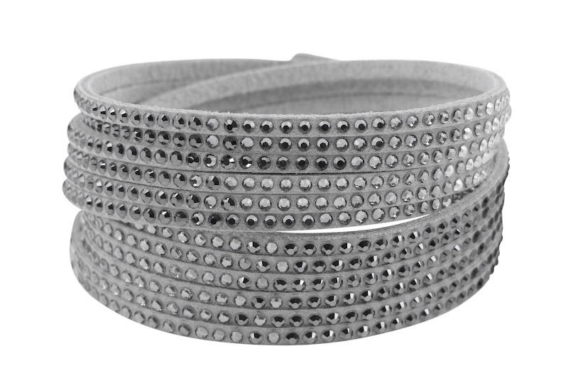 Photo: Twisted Glamour Bracelet by SWAROVSKI CRYSTALLIZED™ - Shop online: http://bit.ly/QwX4oX