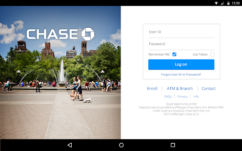 Chase Mobile- screenshot thumbnail