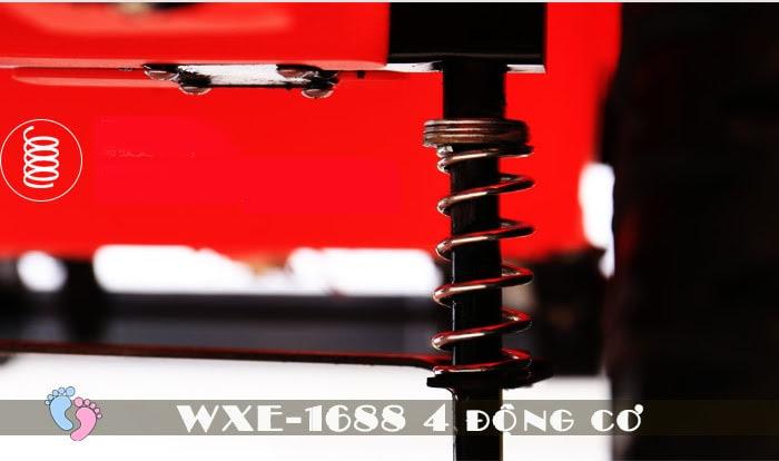 Ô tô điện cho bé WXE-1688 khủng với 4 động cơ 18