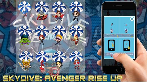 Skydive: Avengers Rise Up 1.0.3 screenshots 1