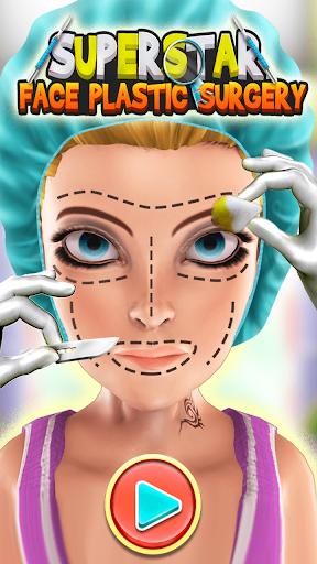 スーパースターの顔の形成外科
