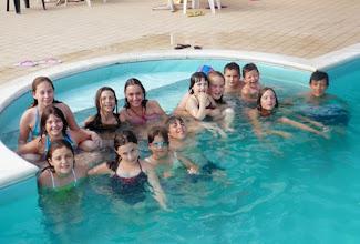 Photo: D'estate, tutti i piscina