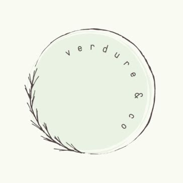 Verdure & Co. - Etsy Shop Icon Template