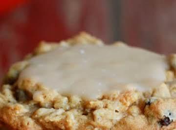 Oatmeal Raisin Maple Cookies