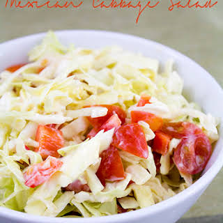 Mexican Salad with Cabbage.