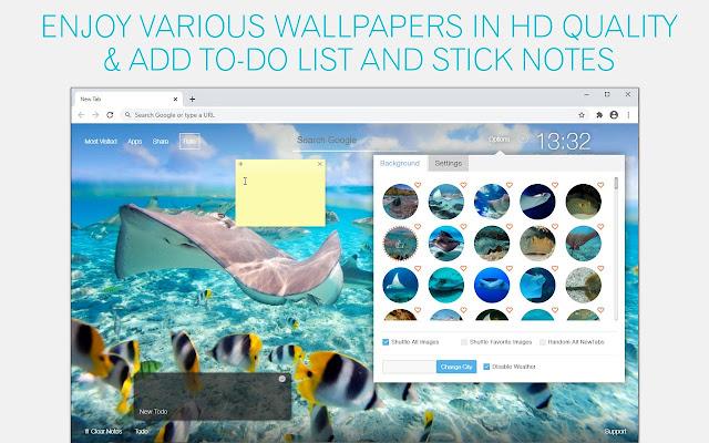 Stingray Wallpaper HD Stingrays New Tab