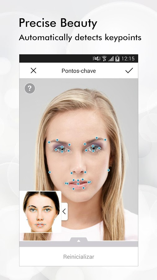 Perfect365: Maquiagem Facial: captura de tela