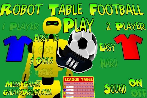 Robot Table Football- screenshot thumbnail