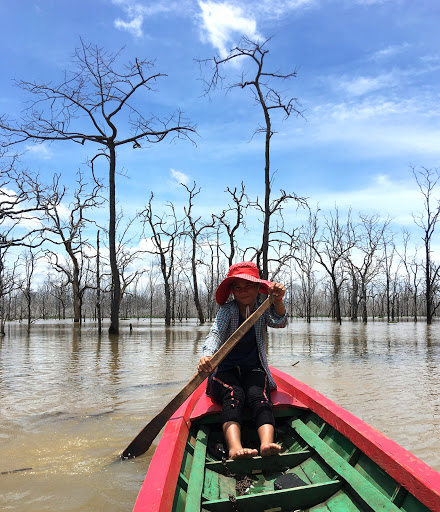 Cambodians struggle to retain their identity after being displaced by dam
