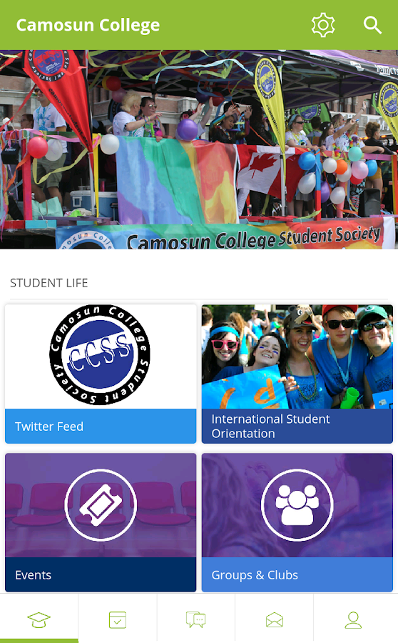 Camosun College Students- screenshot