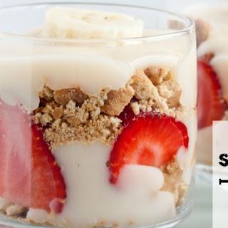 Vegan Strawberry Trifle
