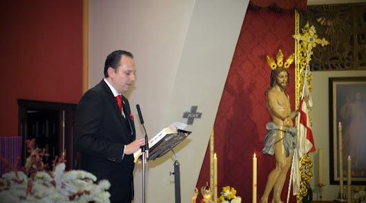 Juan Diego Linares repite como hermano mayor del Resucitado