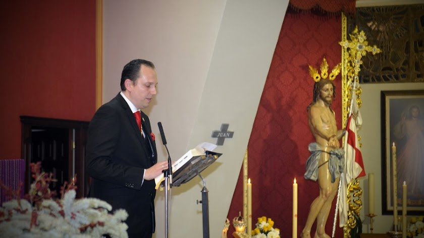 Juan Diego Linares, reelegido hermano mayor.