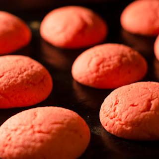 Chewy Strawberry Jello Cookies.