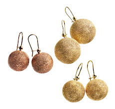 Photo: CAROLINA BUCCI Exclusively ours. 18k yellow or rose gold sparkle ball earrings. $1,250–$1,820. Also available in white gold. Main Floor. 212 872 2686