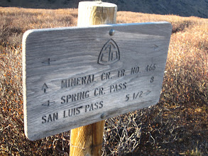 Photo: 8 miles to the car, it only took 54 miles to get to this sign!