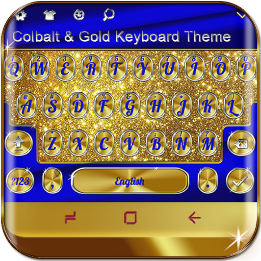 Baixar Cobalt and Gold Keyboard Theme para Android