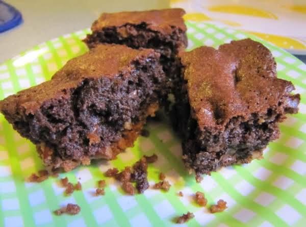 Stepped-up: Pretzel Crust Brownies
