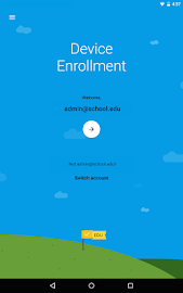 Android Device Enrollment Screenshot 1