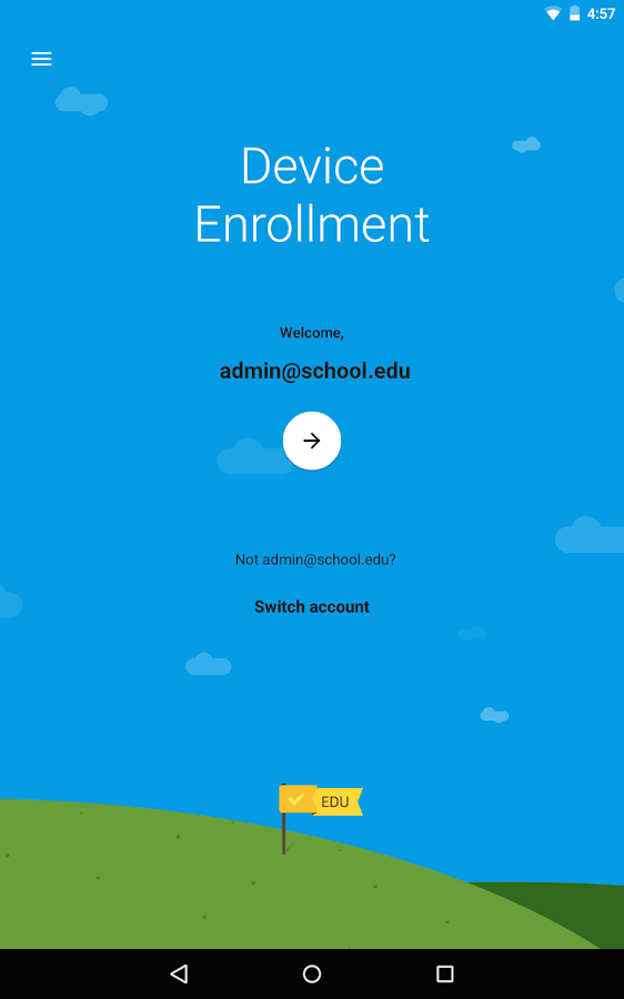 Android Device Enrollment- screenshot