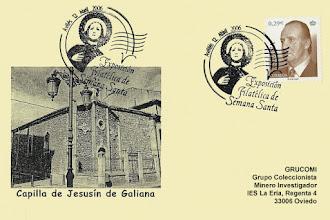Photo: Matasellos en Avilés de con motivo de la V Exposición de Semana Santa 2005