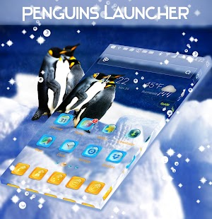Penguins Launcher - náhled