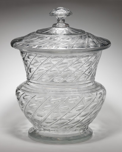 Punch bowl with cover