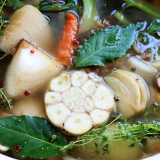 Easy Fresh Vegetable Stock.