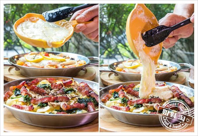堤諾披薩菜單奶油起司焗烤被被烤麵