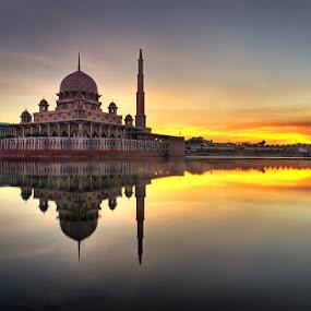 untitled... by Azam Alwi - City,  Street & Park  Vistas ( hdri, reflection, mosque, sunrise )