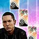 Darkness - Godzilla - Eminem - Piano Tiles
