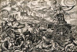 Triomf van de Dood. Philip Galle.