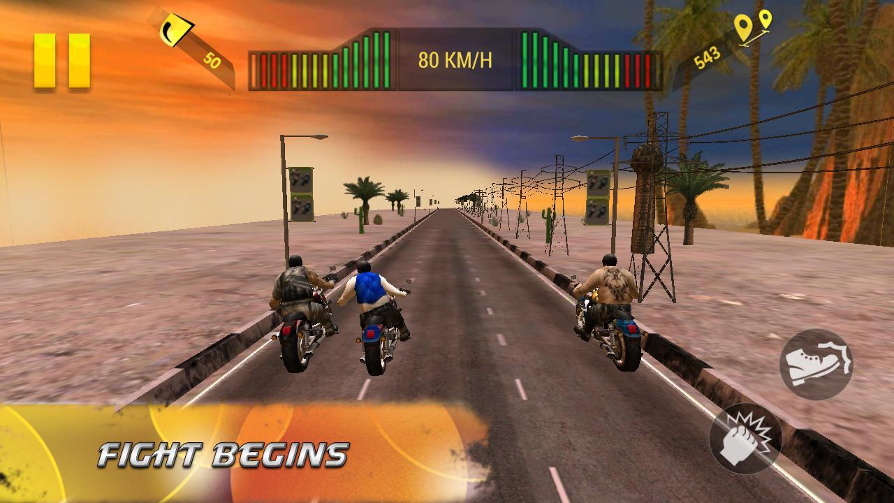 Screenshots of Moto Attack 3D Bike Race 2016 for iPhone