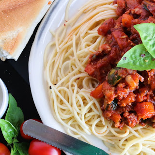 Easy Turkey Bolognese