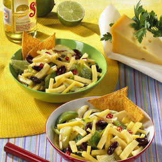 Cheese Bean and Pepper Salad.