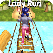 Lady Bug Jungle Run 3D Panda Hero Girl Android APK Download Free By GetYourGame
