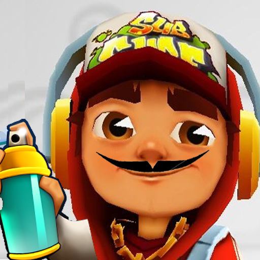 Subway Surf : Mustache Man Run