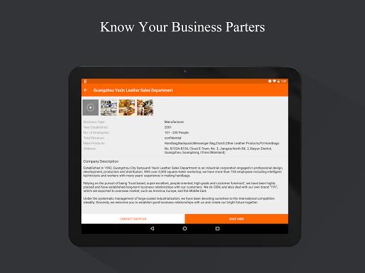 Alibaba.com B2B Trade App app (apk) free download for Android/PC/Windows screenshot