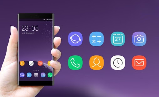 Theme for Samsung galaxy note 8 HD Launcher - náhled