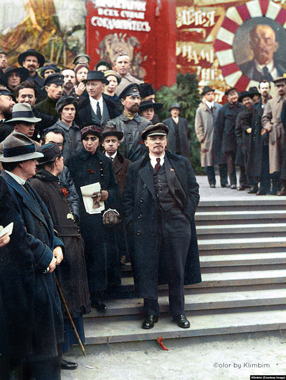 An image of Vladimir Lenin that was published on Shirnina's Facebook and Instagram accounts -- without problem.