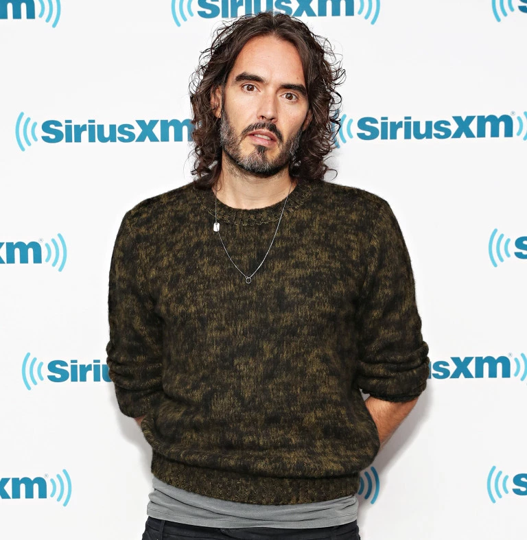 Russell Brand at an event hosted by Sirius XM radio