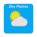 Des Moines, IA - weather icon