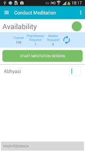 Let's Meditate: Heartfulness Guided Meditation Screenshot
