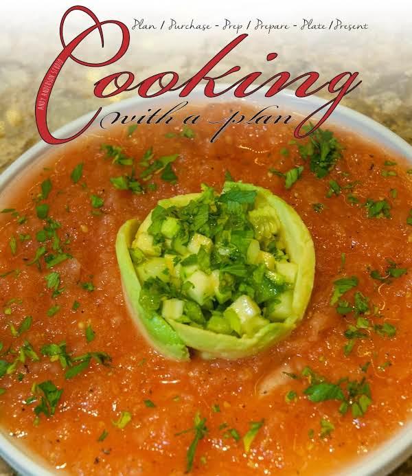 Essential Starters: Gazpacho & Avocado Salad Recipe