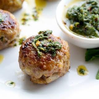 Lamb Meatballs.